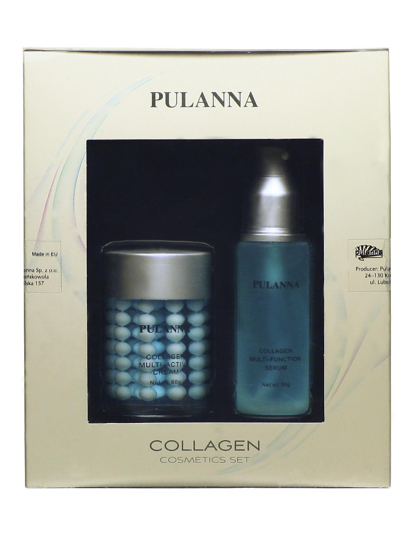 Для лица pulanna подарочный набор -collagen cosmetics set (2 пр) 5931 - купить с доставкой по москве и россии. фото, цена, отзыв.